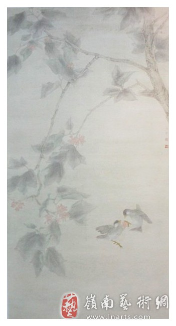 北京现代工笔画院高喜占 丁秀琴 吴冬梅工笔画展 美术 图